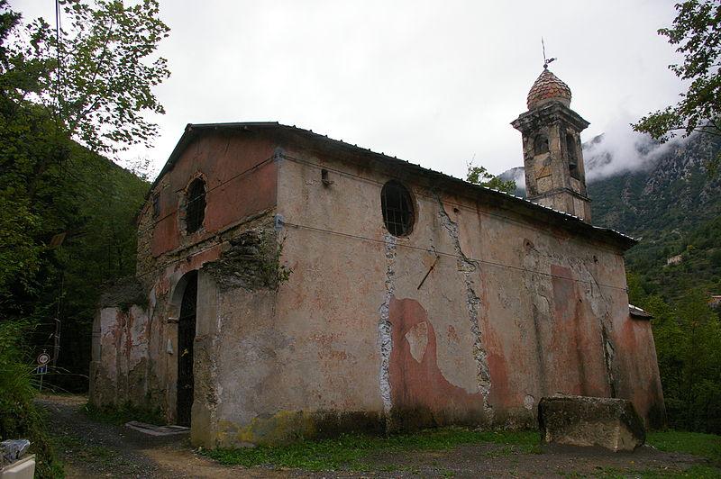Photo du Monument Historique Chapelle Notre-Dame-des-Grâces situé à Breil-sur-Roya