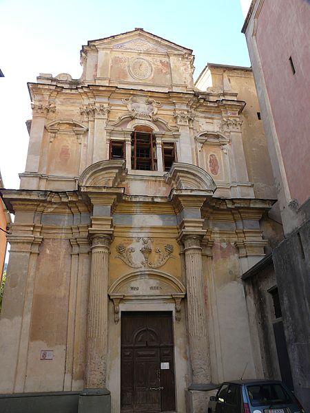 Photo du Monument Historique Eglise Santa-Maria-in-Albis et chapelle de la Miséricorde ou des Pénitents Noirs situé à Breil-sur-Roya