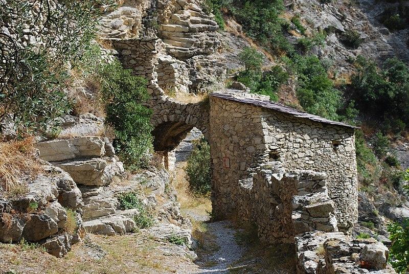 Photo du Monument Historique Porte d'Italie situé à Breil-sur-Roya
