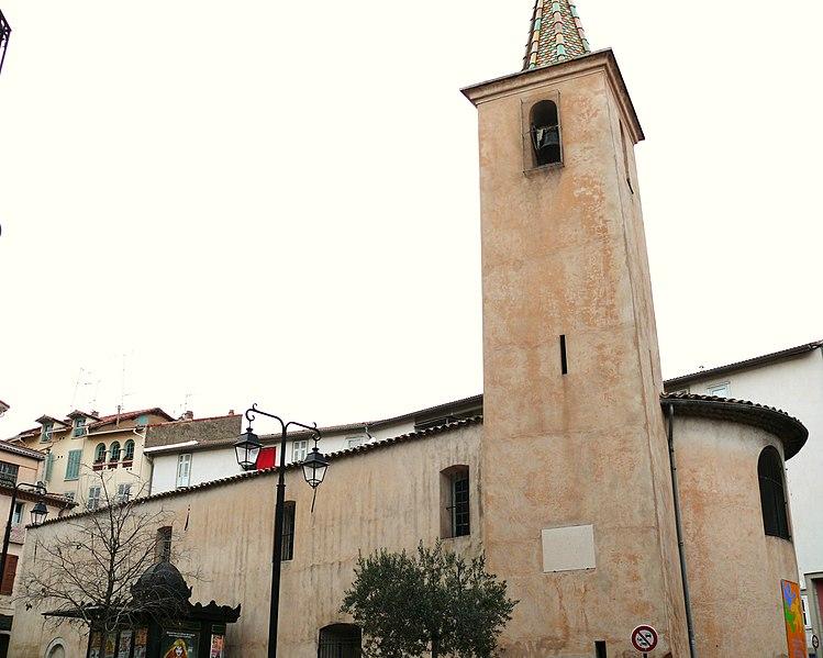 Photo du Monument Historique Chapelle de la Miséricorde dite chapelle des Pénitents Noirs situé à Cannes