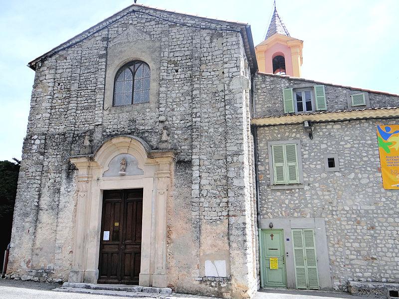 Photo du Monument Historique Eglise situé à Châteauneuf-Villevieille