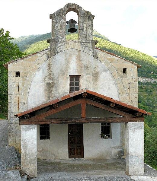 Photo du Monument Historique Chapelle Saint-Antoine situé à Clans