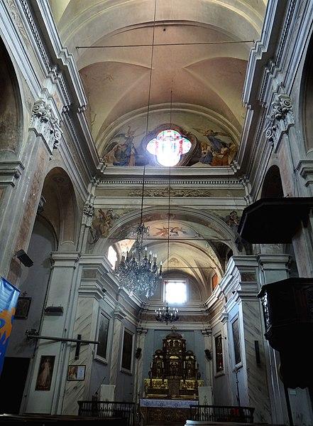 Photo du Monument Historique Eglise situé à Contes