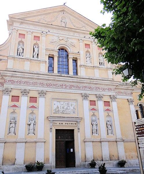 Photo du Monument Historique Eglise situé à L'Escarène