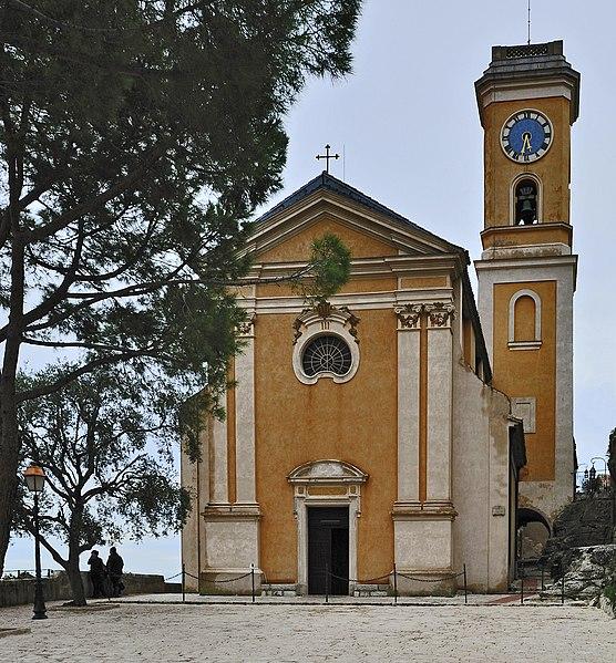 Photo du Monument Historique Eglise Notre-Dame de l'Assomption situé à Eze