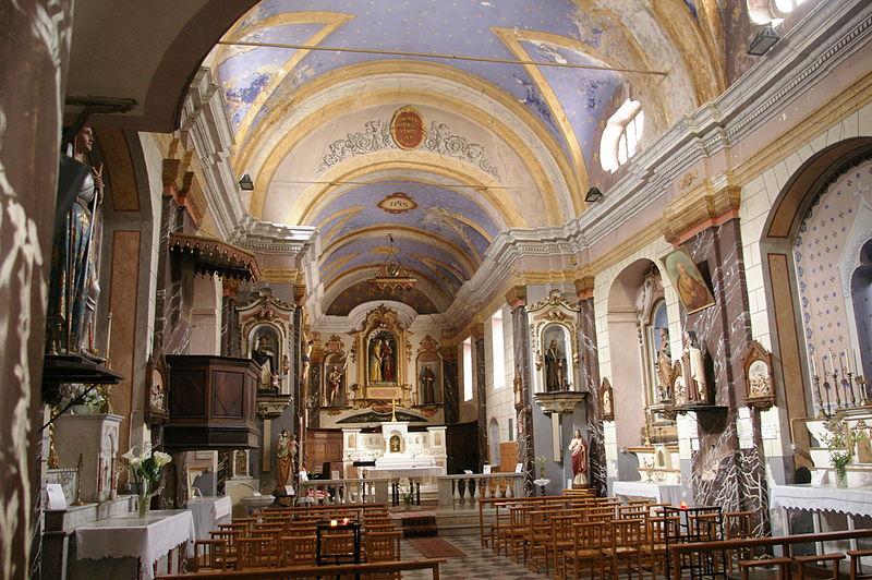 Photo du Monument Historique Eglise Notre-Dame de la Victoire situé à Fontan