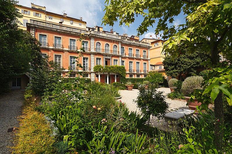 Photo du Monument Historique Hôtel de Cabris situé à Grasse