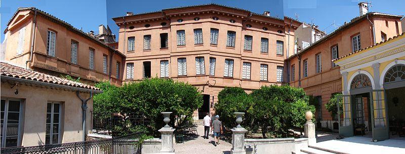 Photo du Monument Historique Hôtel Court de Fontmichel situé à Grasse