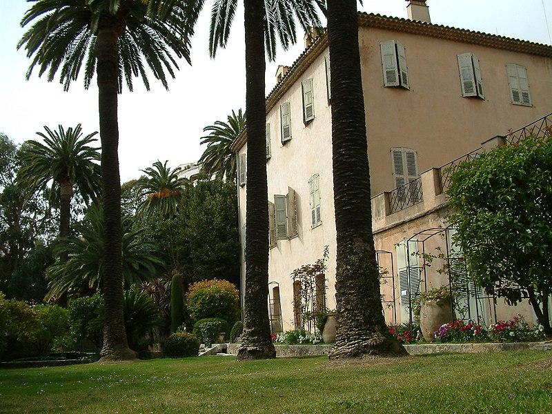 Photo du Monument Historique Maison du peintre Fragonard ou Villa Fragonard situé à Grasse
