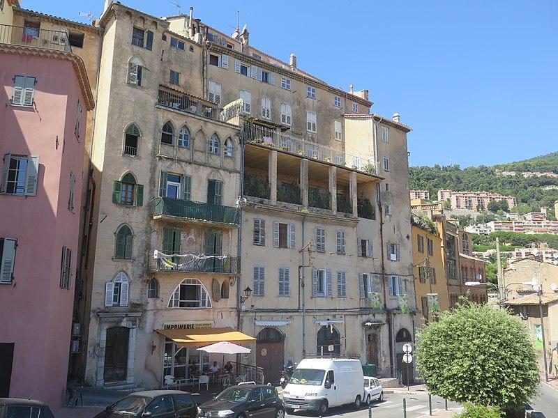 Photo du Monument Historique Maison Tournaire situé à Grasse