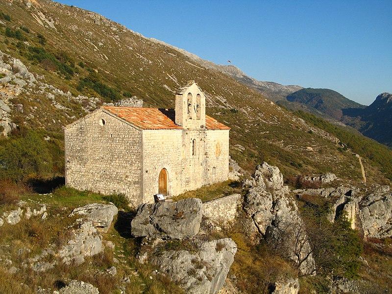 Photo du Monument Historique Chapelle Saint-Etienne situé à Gréolières