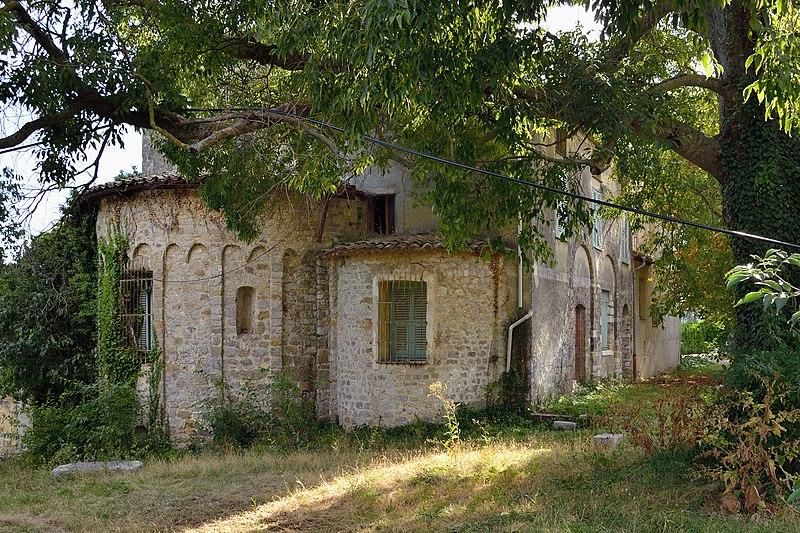 Photo du Monument Historique Ancienne abbaye de la Madone-des-Prés situé à Levens