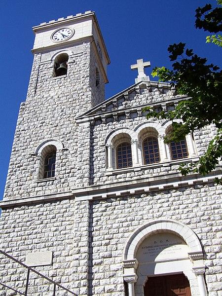 Photo du Monument Historique Eglise situé à Levens