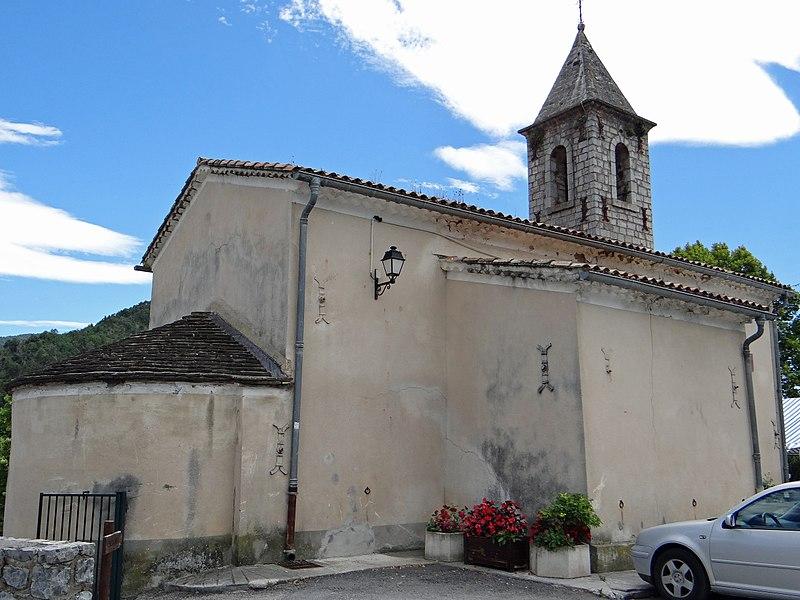Photo du Monument Historique Eglise situé à Lieuche