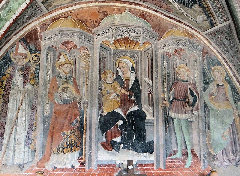 Photo du Monument Historique Chapelle Saint-Grat situé à Lucéram