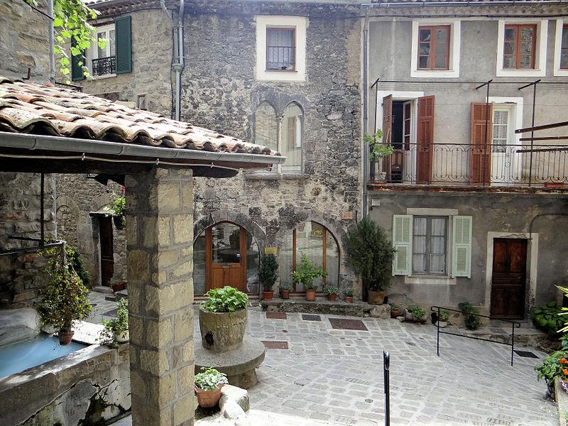 Photo du Monument Historique Maison situé à Lucéram