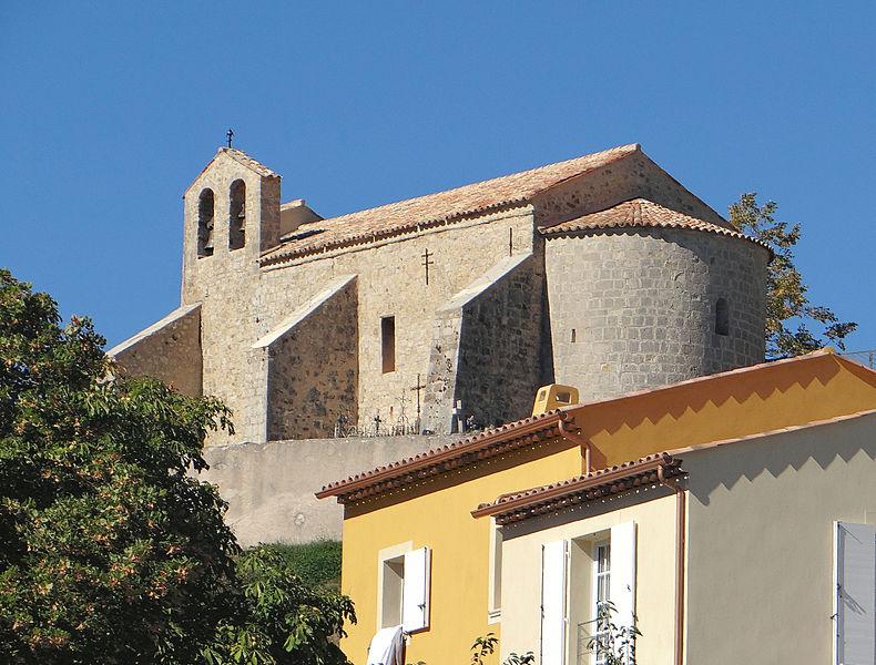 Photo du Monument Historique Eglise situé à Le Mas
