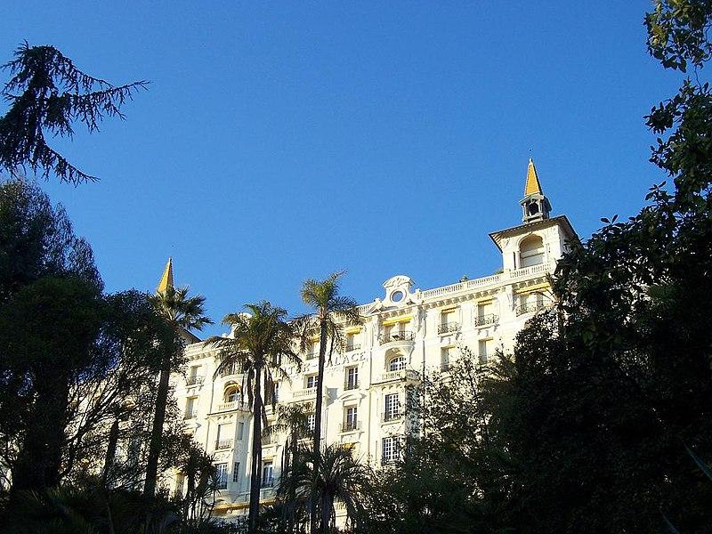 Photo du Monument Historique Hôtel Winter Palace situé à Menton