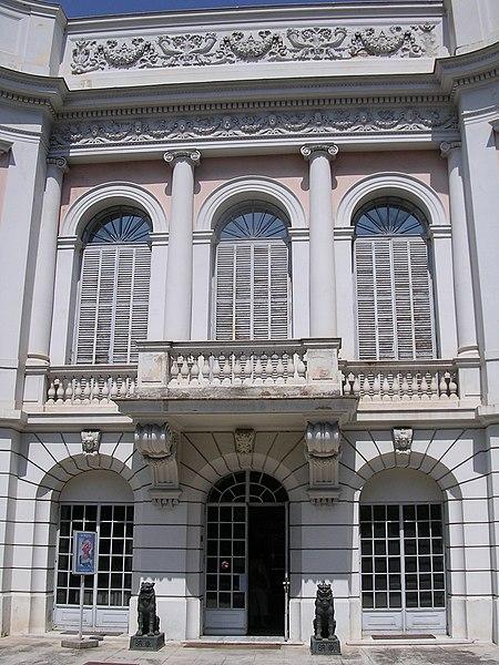Photo du Monument Historique Propriété dite Le Palais Carnoles situé à Menton