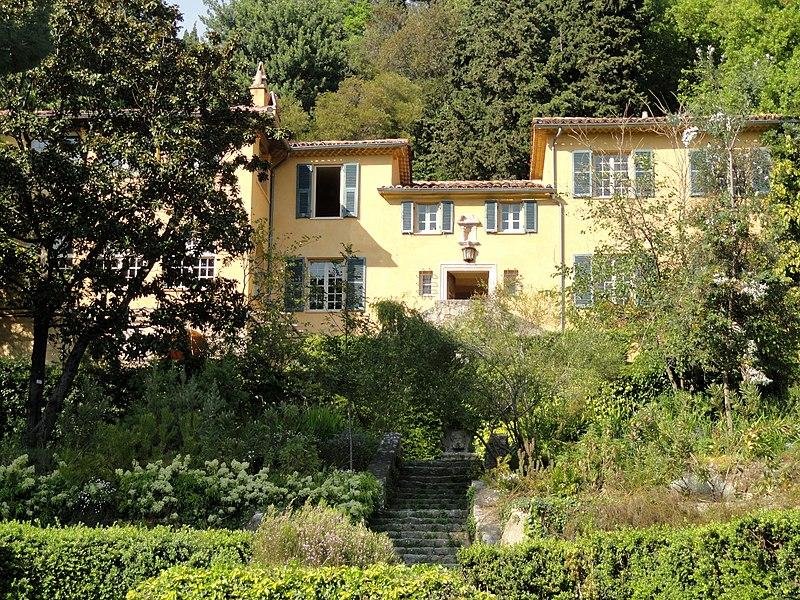 Photo du Monument Historique Jardin dit Serre de la Madone situé à Menton