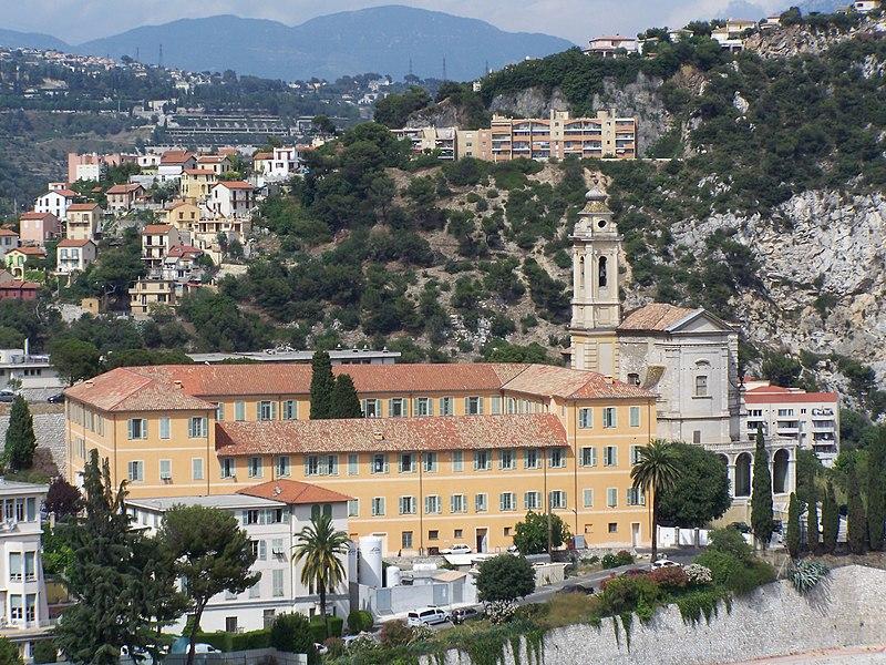 Photo du Monument Historique Ancienne abbaye de Saint-Pons, actuellement hôpital Pasteur situé à Nice
