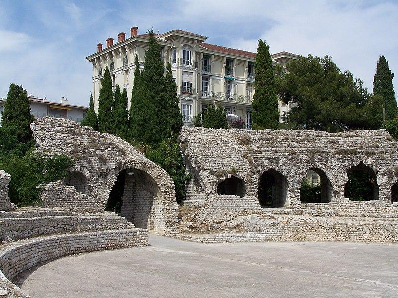 Photo du Monument Historique Arènes de Cimiez situé à Nice