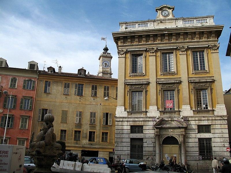 Photo du Monument Historique Bourse du Travail situé à Nice