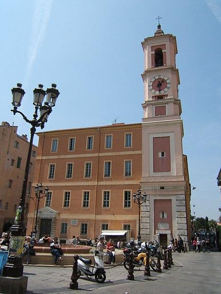 Photo du Monument Historique Caserne Rusca situé à Nice