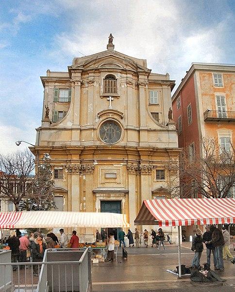 Photo du Monument Historique Chapelle de la Miséricorde situé à Nice