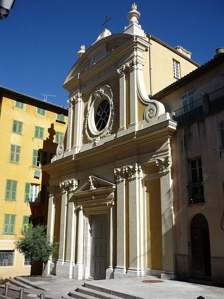 Photo du Monument Historique Chapelle Sainte-Croix dite chapelle des Pénitents Blancs situé à Nice