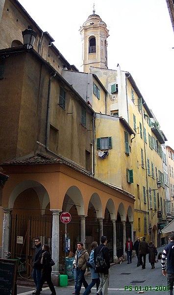 Photo du Monument Historique Chapelle Saint-Jaume ou Saint-Jacques-le-Majeur ou Saint-Giaume ou Sainte-Rita situé à Nice
