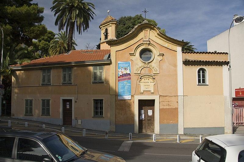 Photo du Monument Historique Chapelle Saint-Philippe-de-Neri situé à Nice