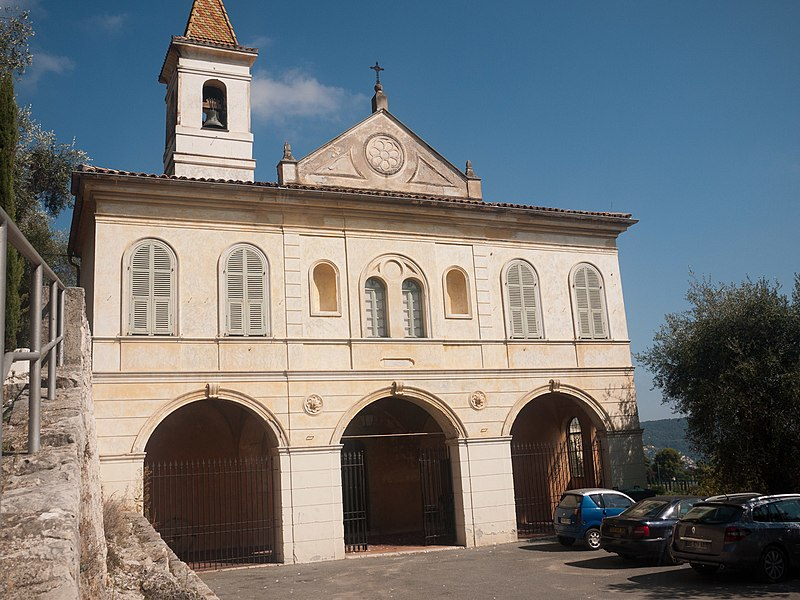 Photo du Monument Historique Eglise de Gairaut situé à Nice