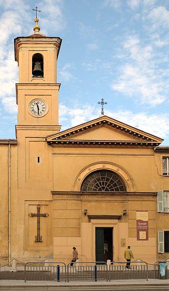 Photo du Monument Historique Eglise Sainte-Hélène situé à Nice