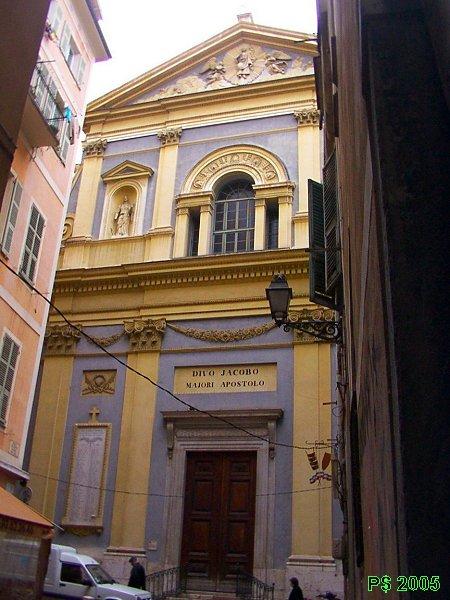 Photo du Monument Historique Eglise Saint-Jacques-le-Majeur dite du Gésu situé à Nice
