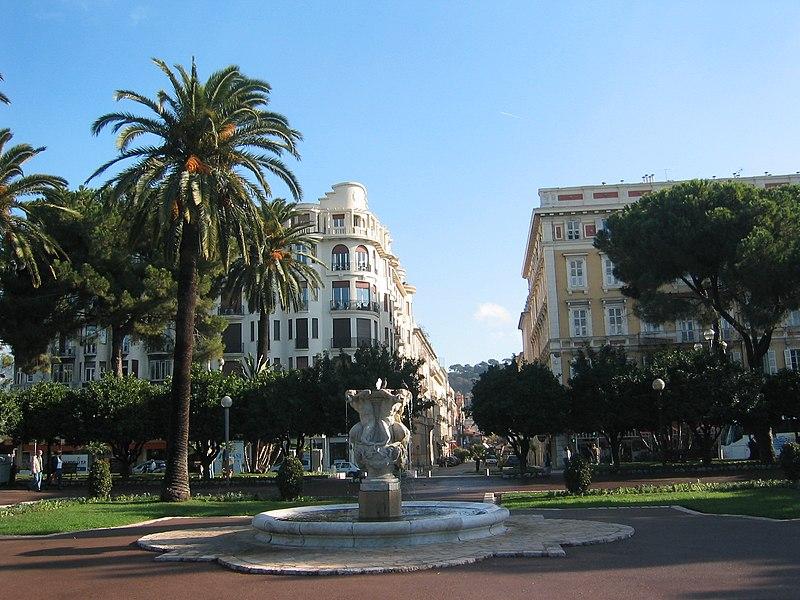 Photo du Monument Historique Fontaine des Phocéens dite des Tritons situé à Nice