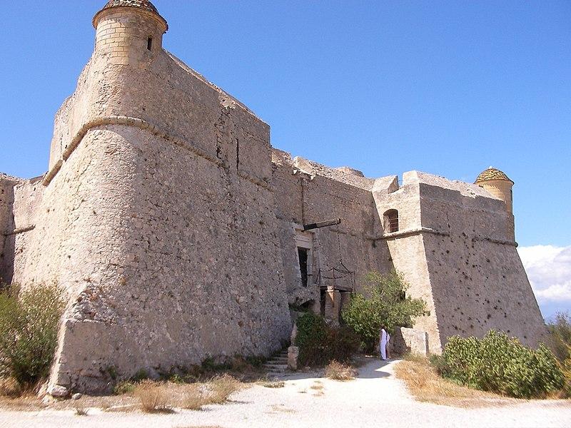 Photo du Monument Historique Fort du Mont-Alban situé à Nice