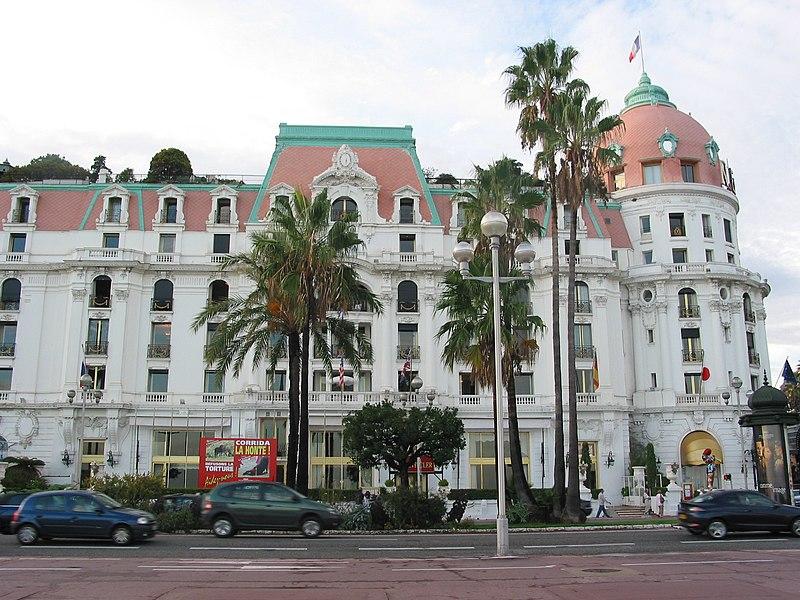 Photo du Monument Historique Immeuble de l'Hôtel Negresco situé à Nice