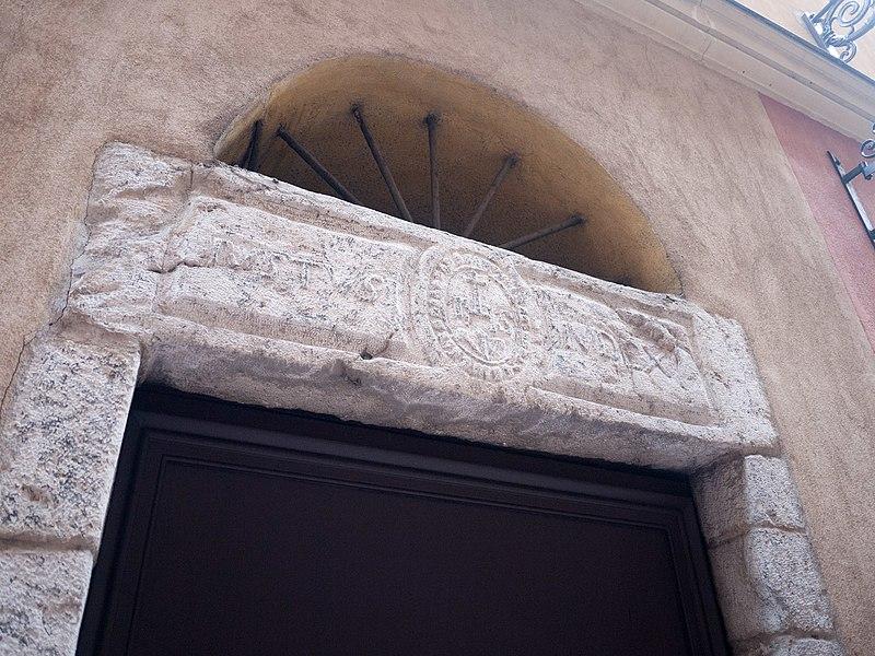 Photo du Monument Historique Immeuble situé à Nice