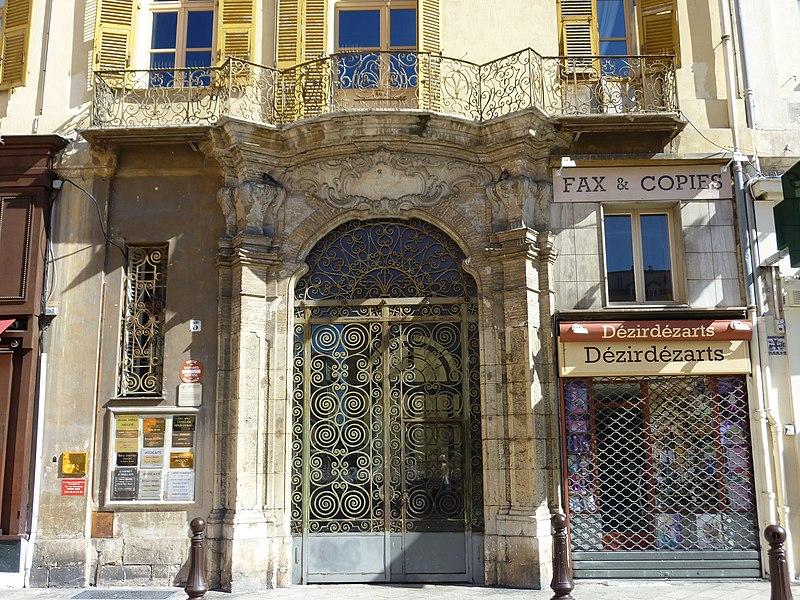 Photo du Monument Historique Immeuble dit Palais d'York situé à Nice