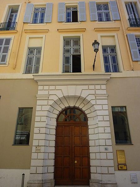 Photo du Monument Historique Maison situé à Nice