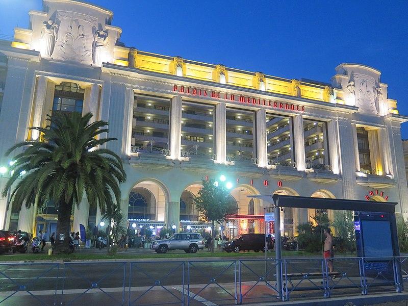 Photo du Monument Historique Palais de la Méditerranée situé à Nice