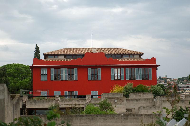 Photo du Monument Historique Villa Arson, Ecole nationale supérieure d'art et Centre national d'art contemporain situé à Nice