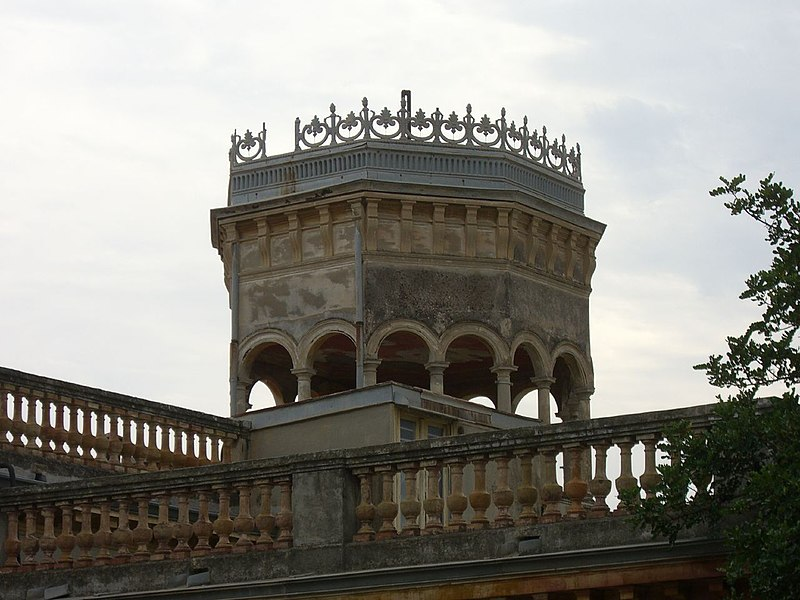 Photo du Monument Historique Villa Beau Site situé à Nice