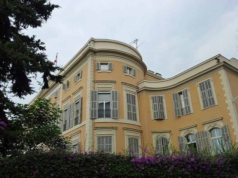 Photo du Monument Historique Villa Furtado-Heine situé à Nice