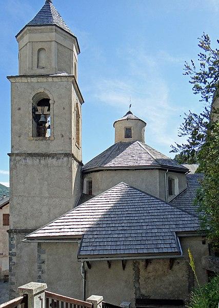 Photo du Monument Historique Eglise situé à Péone