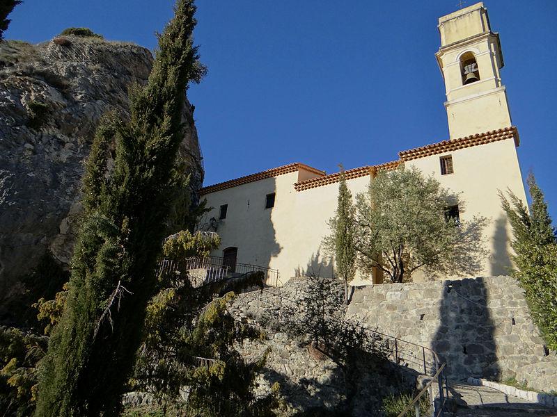 Photo du Monument Historique Eglise du Vieux Pierrefeu situé à Pierrefeu
