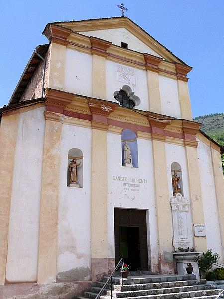Photo du Monument Historique Eglise Saint-Laurent situé à Roure