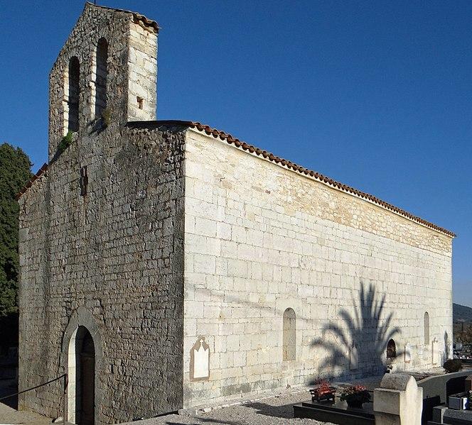 Photo du Monument Historique Chapelle du cimetière situé à Saint-Cézaire-sur-Siagne