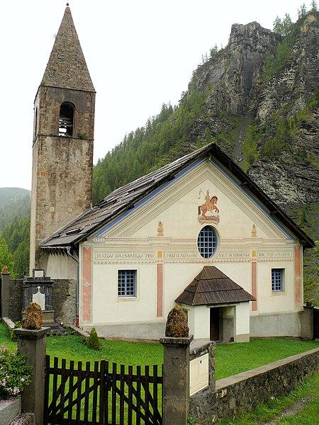 Photo du Monument Historique Eglise paroissiale Saint-Dalmas situé à Saint-Dalmas-le-Selvage